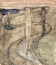 Tis a Long Path Which Wanders to Desire by Frances MacDonald MacNair