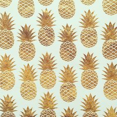 Golden pineapple goodness.