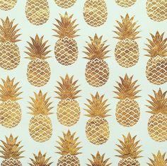 Golden pineapple goodness.