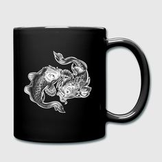 Sternzeichen Fische Becher Tasse - Tasse einfarbig