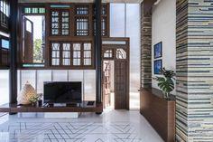 Image 22 of 45 from gallery of Collage House / S+PS Architects. Photograph by Sebastian Zachariah, Ira Gosalia, Photographix Pinkish Shah
