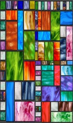 Stained glass panel seamless repeating background 3 @ http://1-background.com/stained_glass_panels_modern_backgrounds.htm