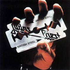 judas priest  British Steel  One of the greatest metal album covers ever!