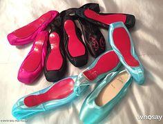 Christian Louboutin Pointe Shoes   Eu quero só pra enfeitar! E são Gaynor Minden! =o