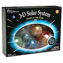 Must have 4 Eli!  3-D Solar System - Boxed Glow In The Dark Stars and Planets