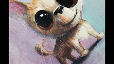 Cute Dog Speedpainting  This is my new dog Pax.  I fell in love with his hilarious smile and his big eyes.  He needs a home and some one to care for him.  Adopt him from: www.roomenrichment.com  Thank you for watching the video! I hope you enjoyed. Falling In Love With Him, I Fall In Love, Dog Illustration, Big Eyes, Cute Dogs, Channel, Hilarious, Creatures, Inspirational