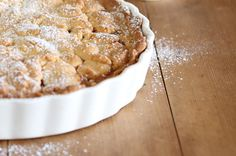Maggie Beer's Sangiovese verjuice and apple shortcake