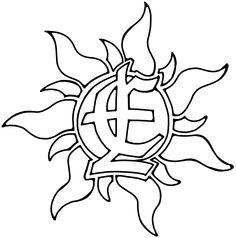 Enfants Lumiere sun symbol