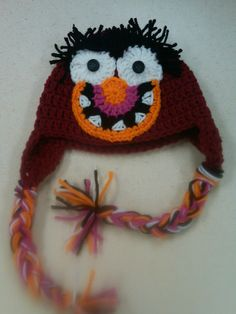 Crochet Animal Hat by BeeSweetBoutique12 on Etsy, $18.00