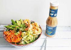 Poke Bowl aux crevettes facile/Cinq Fourchettes Poke Bowl, Bowl Cake, Buddha Bowl, Entrees, Sushi, Meal Prep, Chicken Recipes, Food And Drink, Blog