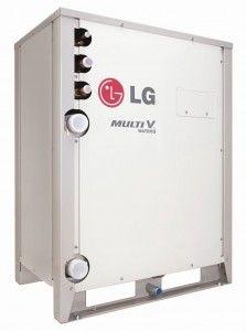 LG Air Conditioning präsentiert neues Modell MULTI V Water IV