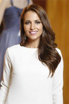 Paula Echevarría, muy guapa en la presentación de la segunda temporada de 'Velvet'
