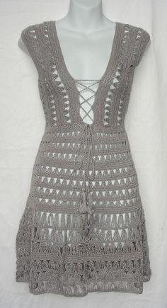 Jennifer Aniston Dress free crochet graph pattern from Adam Sandler movie Just Go With It