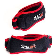 TWO Professional Patella Tendon Strap by Gym Life: Runner's  #SportsMedicine