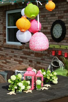 summer party decorations | Summer party ideas | cool ideas!