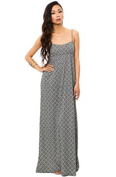 The Clover Maxi Dress in Gray by ONeill