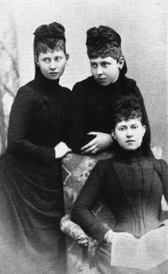 Sophie, Viktoria and Margaret of Prussia