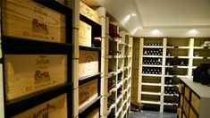 Rhone OWCs Wine Furniture, Wine Cellar Design, Wine Storage, Bookcase, Wine Rooms, Shelves, Cool Stuff, House, Awesome