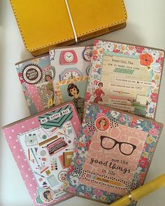 Ali Brown Joy Chic Sparrow meets The Reset Girl! I'm finally able to spend time with this beauty, so I decided to make inserts featuring… Happy Planner Cover, Reset Girl, Cute Stationary, Diy Back To School, Planner Tips, Day Planners, Travelers Notebook, Album, Book Projects