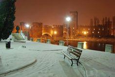Verona sotto la neve