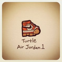 Turtle says to stay positive Cute Turtle Drawings, Baby Animal Drawings, Easy Drawings, Mini Turtles, Cute Turtles, Baby Turtles, Jordan 1, Kawaii Turtle, Turtle Images