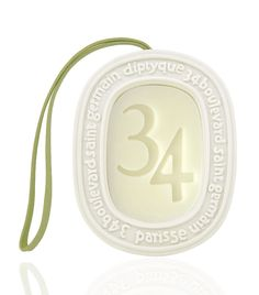 Diptyque Fragrances – 34 Blvd St Germain Scented Oval - a beautiful clean fragrance hang in wardrobe, airing cupboard, draws or bathroom/ clockroom