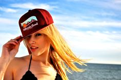 California Good Snapback in Magenta  #snapback #hat #beach #sea #model #baseball #beach #sea #ocean #california #californiagood