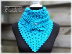 Granny sjaal met knoop