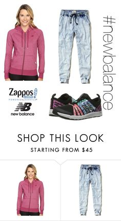 """""""Run the World in New Balance Contest Entry"""" by supernova21902 ❤ liked on Polyvore featuring New Balance, Hollister Co. and NewBalance"""