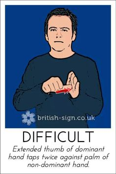 The British Sign Language or BSL is the Sign language that is used widely by the people in the United Kingdom. This Language is preferred over other languages English Sign Language, Sign Language For Kids, Sign Language Phrases, Sign Language Alphabet, Sign Language Interpreter, Learn Sign Language, British Sign Language, Learn Bsl, Learn To Sign