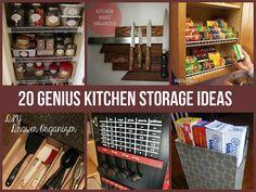 20 Genius Storage Hacks For The Kitchen