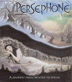 Persephone, illustrated by Virginia Lee. Awesome work.