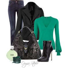 """""""Emerald Isle"""" by orysa on Polyvore"""