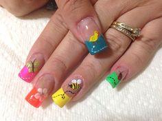 Colors by Faneshka - Nail Art Gallery nailartgallery.nailsmag.com by Nails Magazine www.nailsmag.com #nailart