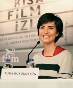 Tuba Büyüküstün At Akbank Short Film Festival. March 2016