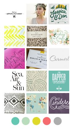 colours, patterns, graphic inspirataions -- Eva Black Design | Blog: Recent Inspiration Boards