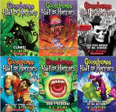 Goosebumps Hall of Horrors Boxed Set: #1 Claws!; « Library User Group