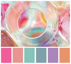 Mermaids, Colors and Color palettes on Pinterest