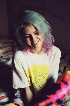 She's so prettyyy.  I love her hairr! <3