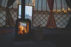 25ft yurt - Yorkshire Yurts