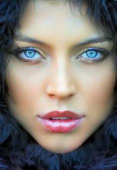 Portrait - Eyes - Lips - Close-Up - Editorial - Photography - Pose Inspiration(Beauty Editorial Poses) Most Beautiful Eyes, Stunning Eyes, Beautiful People, Beautiful Women, Amazing Eyes, Simply Beautiful, Pretty Eyes, Cool Eyes, Regard Intense