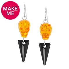 Spiked Skull Earrings | Fusion Beads Inspiration Gallery