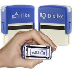 Like and Dislike Stamps (Set of 2)