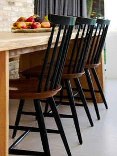 Check out our online site for a lot more that is related to this impressive chair yoga Black Kitchen Chairs, Painting Kitchen Chairs, Painted Kitchen Tables, Black Dining Room Chairs, Diy Dining Table, Ercol Dining Chairs, Ercol Chair, Dining Chair Makeover, Furniture Makeover