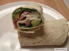 Bites by Berg: Wraps med serranoskinke, avocado og fetacreme