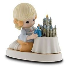 Disney Precious Moments 'A World of my Own' Precious Moments Disney Collection Disney Precious Moments, Precious Moments Figurines, Disney Figurines, Collectible Figurines, Disney Statues, Disney Movies To Watch, Disney Treasures, Disney Souvenirs, Disney Ornaments