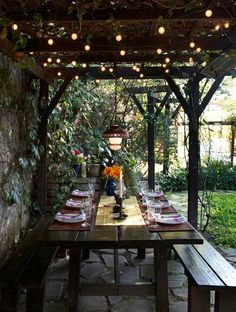 happiness is...... a backyard dinner party <3<3<3