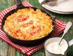 Olaszos rakott krumpli Receptek a Mindmegette. Fish Recipes, Recipies, Healthy Recipes, Tasty, Yummy Food, Hungarian Recipes, Favim, Macaroni And Cheese, Food And Drink