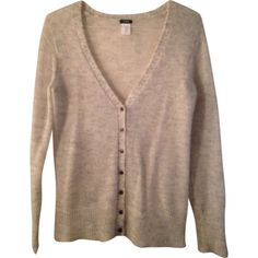 I just discovered this while shopping on Poshmark: J. Crew Mohair V Neck Cardigan. Check it out!  Size: M