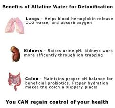 Alkaline water benefits http://holymedwater.com visit us for Radical Health E-Course